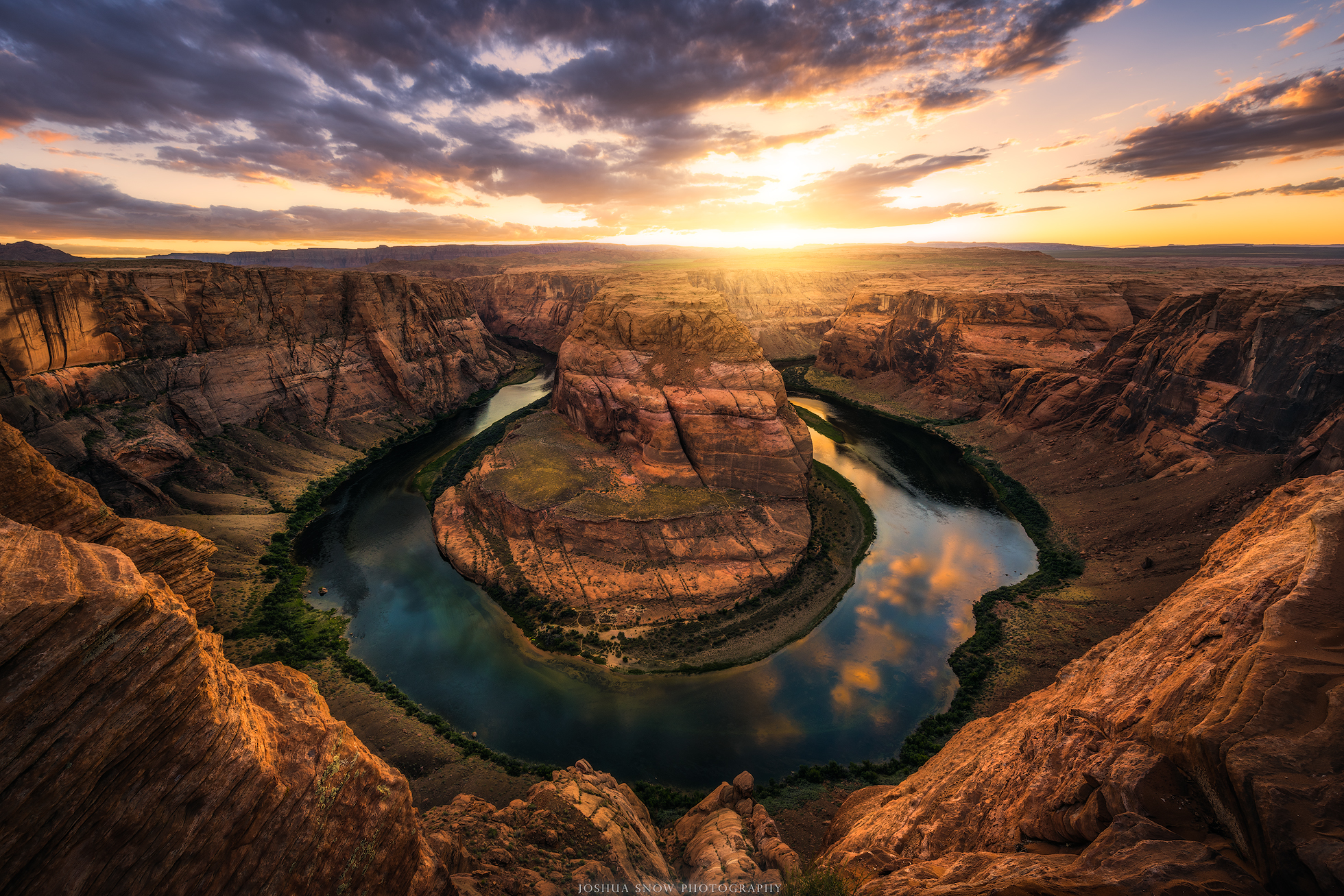 Horseshoe Bend Sunset copy