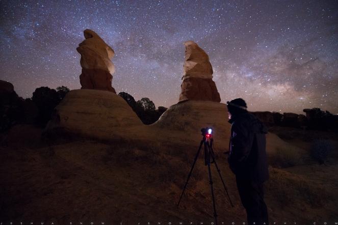 Night Photography, Workshop, Education, Milky Way, stars, Utah, Joshua Snow
