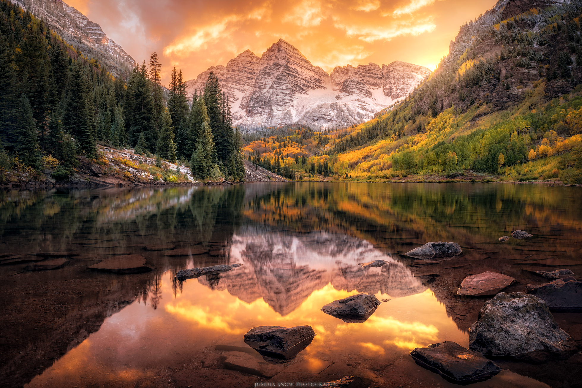 Maroon Bells Epic Sunset copy