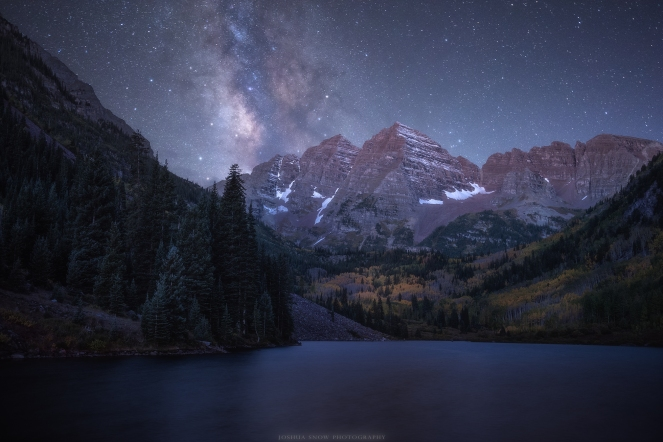 Maroon Bells Milky Way Composite copy